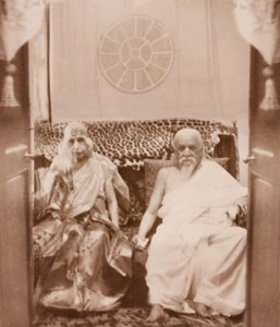 [Darshan of Mother Sri Aurobindo]
