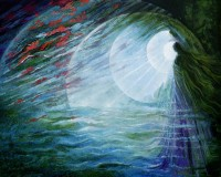 Painting by Freydoon Rassouli – Breath of Dawn (Source: http://www.rassouli.com)