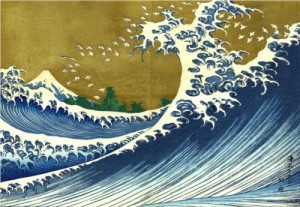 Painting by Katsushika Hokusai (Source: http://www.wikiart.org)