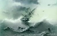 (Source: http://www.wikipaintings.org/en/ivan-aivazovsky/shipwreck-1854)
